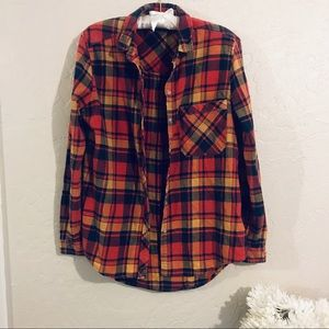 BDG fall flannel size M